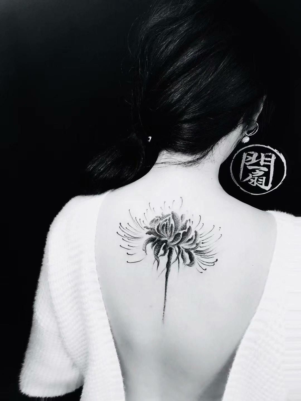 小清新的女性纹身