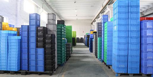 广成塑料产品仓库