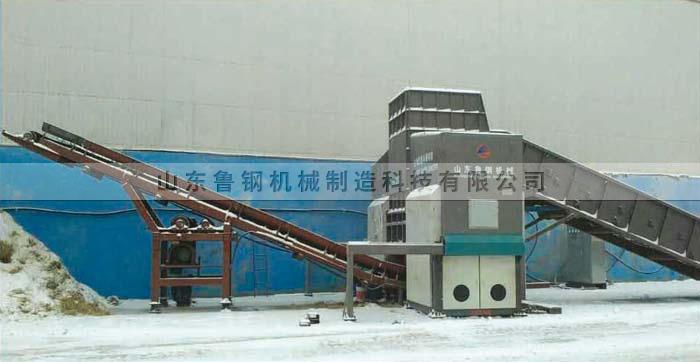 猛龙-9000秸秆破碎机-黑龙江清河泉电厂