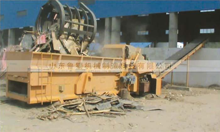 ZP1400-7000B综合破碎机中节能栖霞生物发电厂生产场景